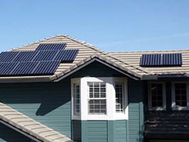 Andrew's home roof top solar installation in Shingle Springs, CA