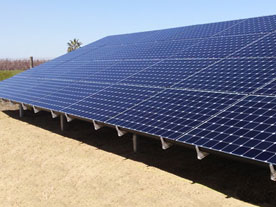 """Valley Solar worked hard for us to get the the ground mount solar system done."""
