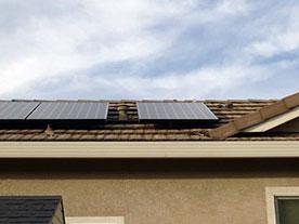 Juanita's home solar system in Elk Grove, CA