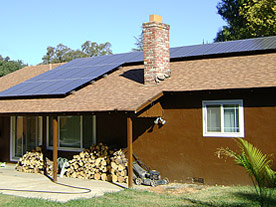 Jeff's Residential Solar Roof Installation