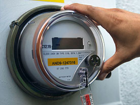 "Net metering is how your electric meter ""spins backward"""