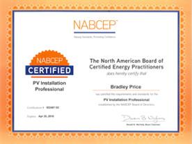 Certifications Solar Sacramento Sunpower Elite Dealer