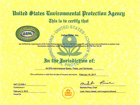 Environmental Protection Agency (EPI)