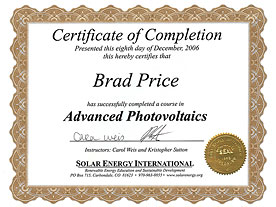 Advanced Photovoltaics
