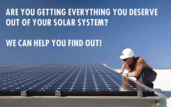 Are you getting everything you deserve out of your solar system?